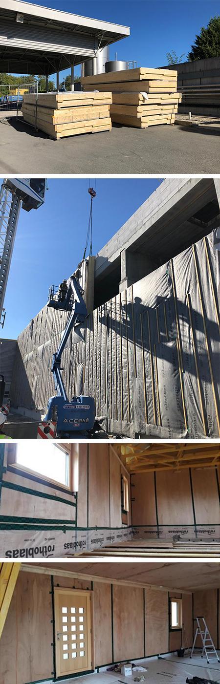 Mise en oeuvre construction et chantier