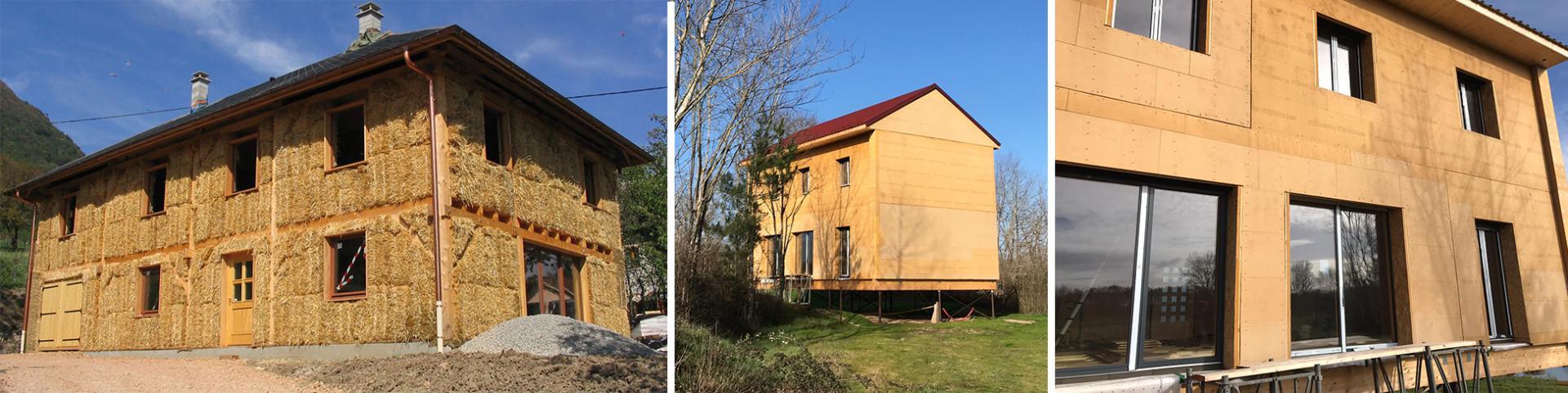 Construction maisons en paille